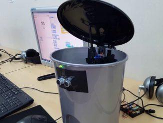 arduino akıllı çöp kutusu
