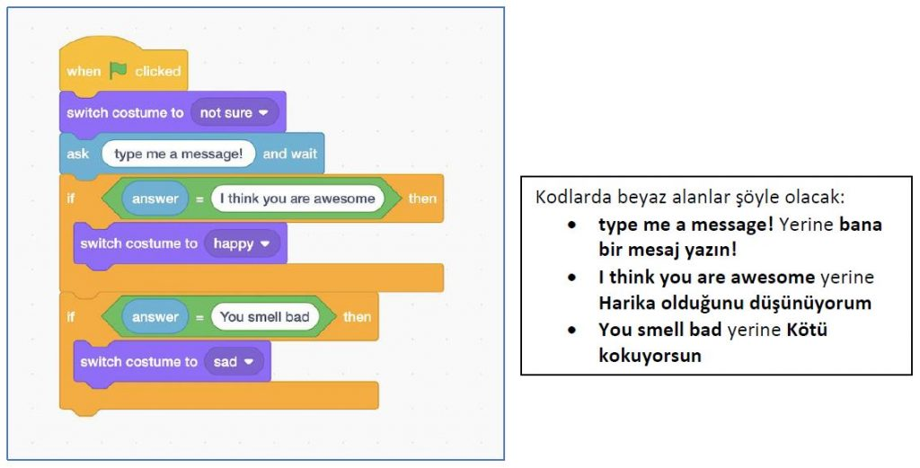 uygulama kodları