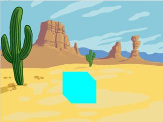 Eriyen Buz Animasyonu